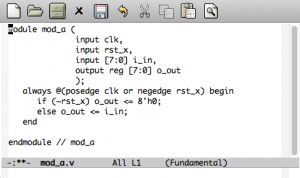 Fundamental modeの表示