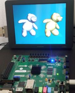 AXIスレーブを実験するユーザー回路