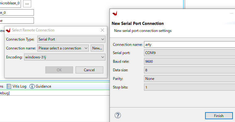 Serial Port Connection